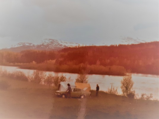 Telttailua Pohjois-Norjassa