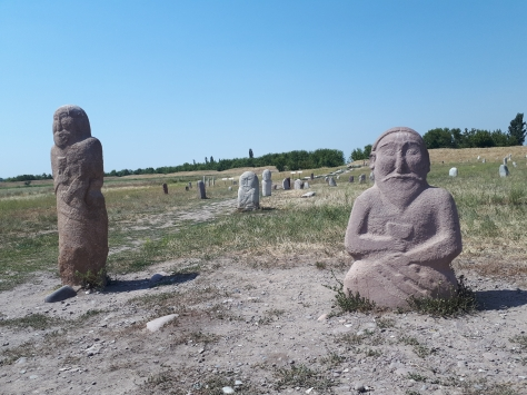 Burana statues