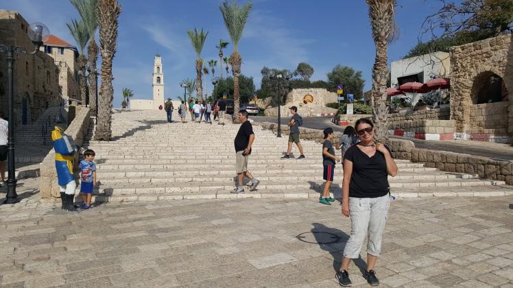 Jaffa, Kaupungin portaat