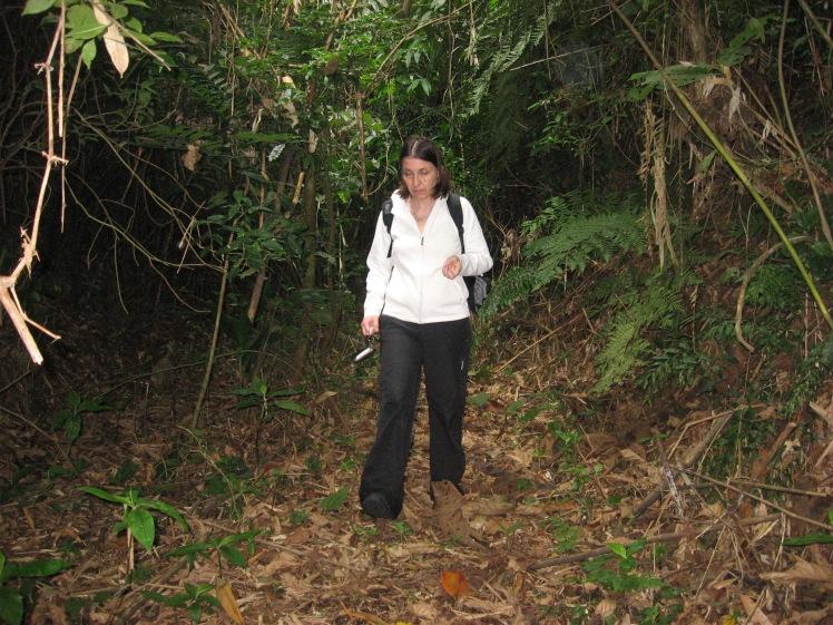 Polku kätkölle Intervales State Park, Brasilia