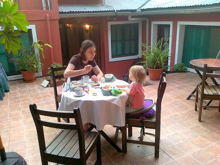 Aamupalalla Uruguaissa