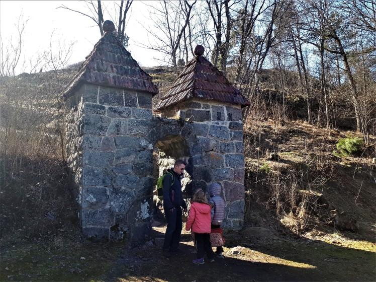 Vanhalinnan vuoren portti