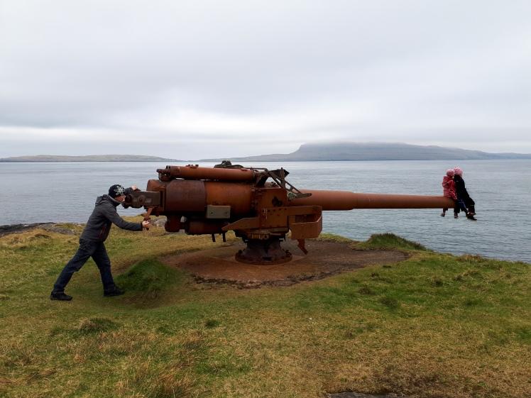 Fort Skansin, Tórshavn, Faroe Island
