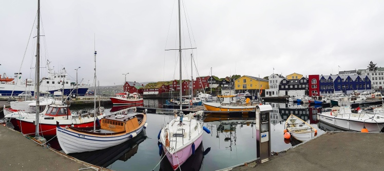 Tórshavn marina; Faroe Islands