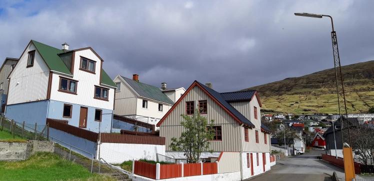 Vestmanna houses