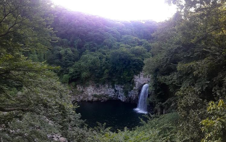 Cheonjiyeon Falls, Seogwipo, Jeju, South Korea
