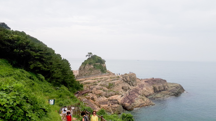 Sinseondae Cliff, Geoje, South Korea