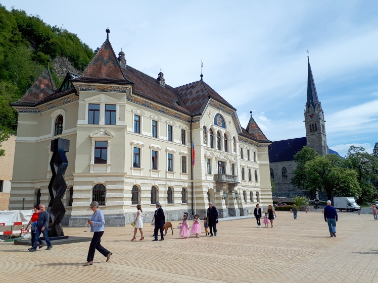 Parliaments in Vaduz, Liechtenstein