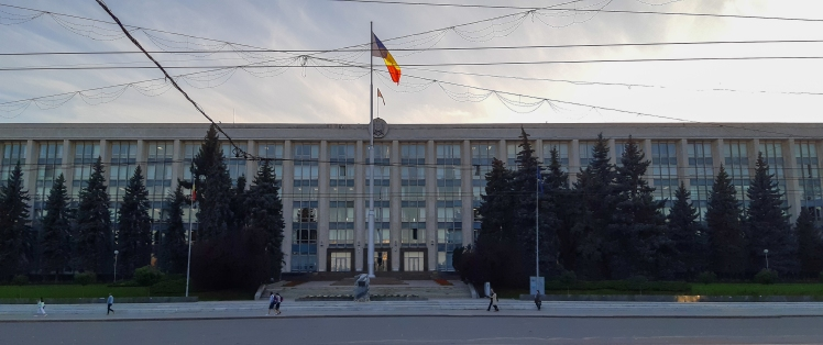 (the Government House of Moldova