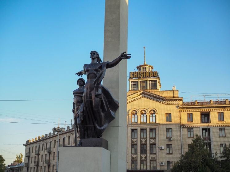 Monument to the Liberators of Chisinau from the Nazi Troops